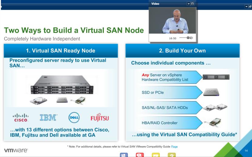 VSAN nodes